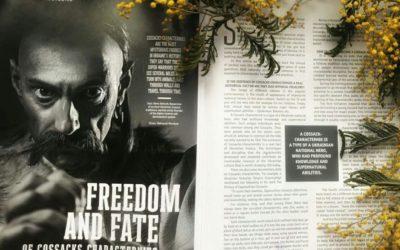 Козак-характерник у журналі «Warrior of light»